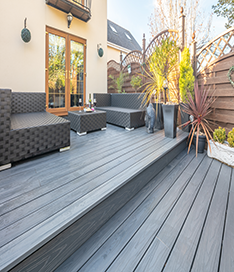 BSW Urban Composite Decking Range at Suregreen