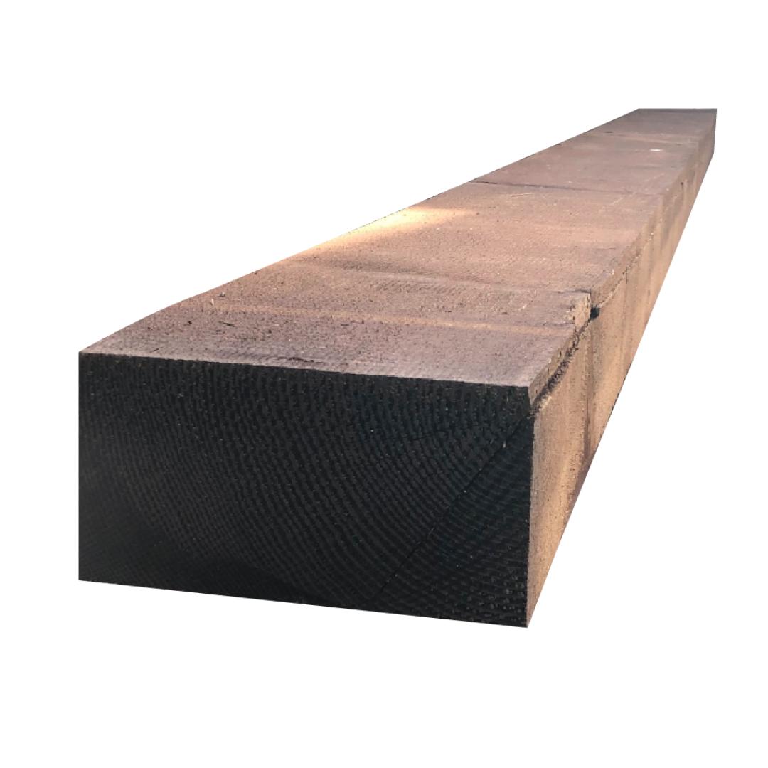 Brown Railway Sleeper   Treated Softwoods   Suregreen Ltd