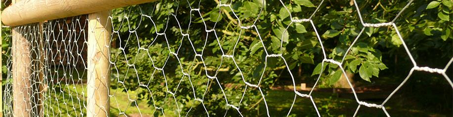 Chicken Wire & Rabbit Fence
